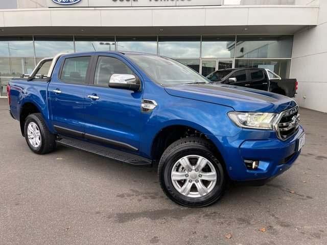 Used Ford Ranger PX MkIII 2019.00MY XLT Essendon Fields, 2018 Ford Ranger PX MkIII 2019.00MY XLT Blue 6 Speed Sports Automatic Utility