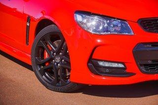 2015 Holden Commodore VF II MY16 SS V Redline Red 6 Speed Manual Sedan.