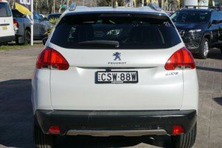 2013 Peugeot 2008 A94 Allure White 4 Speed Sports Automatic Wagon