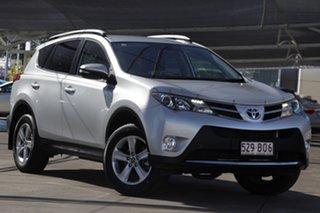 2015 Toyota RAV4 ASA44R MY14 GXL AWD Silver 6 Speed Sports Automatic Wagon.