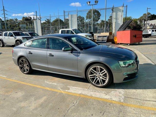 Used Audi A5 8T MY14 Sportback Quattro Edgewater, 2014 Audi A5 8T MY14 Sportback Quattro Grey 6 Speed Manual Hatchback