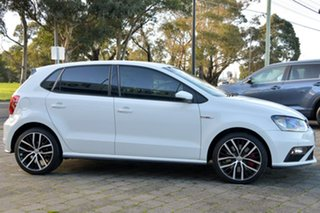 2016 Volkswagen Polo 6R MY16 GTI DSG White 7 Speed Sports Automatic Dual Clutch Hatchback.