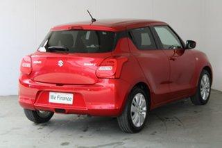 2019 Suzuki Swift AZ GL Navigator Burn Red 1 Speed Constant Variable Hatchback