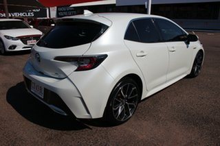 2018 Toyota Corolla ZWE211R ZR E-CVT Hybrid Crystal Pearl 10 Speed Constant Variable Hatchback