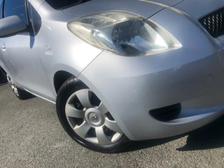 2008 Toyota Yaris NCP91R YRS Silver 4 Speed Automatic Hatchback.