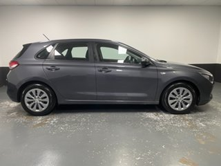 2017 Hyundai i30 PD MY18 Go Iron Gray 6 Speed Sports Automatic Hatchback