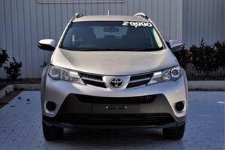 2015 Toyota RAV4 ASA44R GX AWD Silver 6 Speed Sports Automatic Wagon.