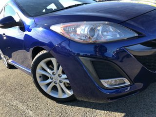 2010 Mazda 3 BL10L1 MY10 SP25 Activematic Blue 5 Speed Sports Automatic Hatchback.