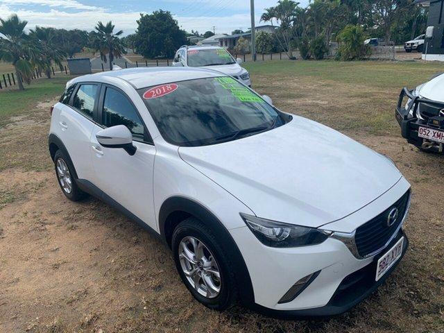 Used Mazda CX-3 Bowen, 2018 Mazda CX-3 MAXX White 6 Speed Automatic Wagon
