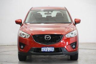 2013 Mazda CX-5 KE1031 MY13 Maxx SKYACTIV-Drive AWD Sport Red 6 Speed Sports Automatic Wagon.