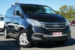2017 LDV G10 SV7A Black/Grey 6 Speed Sports Automatic Wagon.