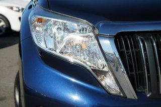 2015 Toyota Landcruiser Prado KDJ150R MY14 GXL Blue 5 Speed Sports Automatic Wagon.