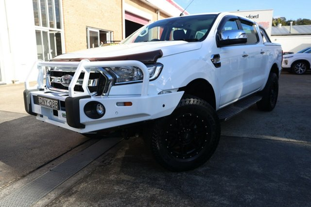 Used Ford Ranger PX MkII MY17 XLT 3.2 (4x4) Narrabeen, 2017 Ford Ranger PX MkII MY17 XLT 3.2 (4x4) White 6 Speed Automatic Dual Cab Utility