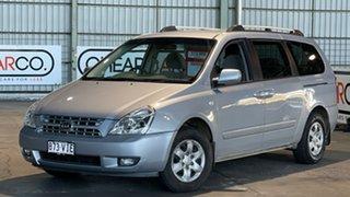 2008 Kia Grand Carnival VQ MY07 EX Silver 5 Speed Sports Automatic Wagon.