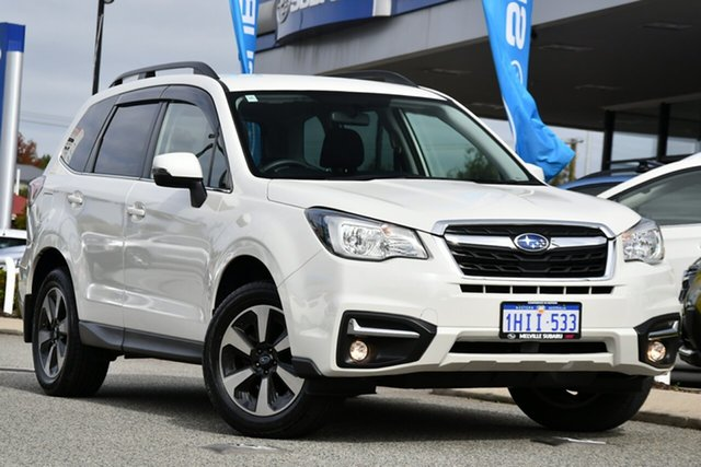 Used Subaru Forester S4 MY17 2.5i-L CVT AWD Action Pack Melville, 2017 Subaru Forester S4 MY17 2.5i-L CVT AWD Action Pack White 6 Speed Constant Variable Wagon