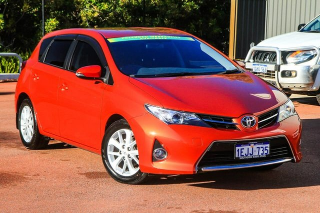 Used Toyota Corolla ZRE182R Ascent Sport S-CVT Cannington, 2013 Toyota Corolla ZRE182R Ascent Sport S-CVT Orange 7 Speed Constant Variable Hatchback