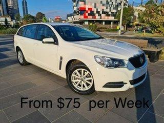 2017 Holden Commodore VF II MY17 Evoke Sportwagon White 6 Speed Sports Automatic Wagon.