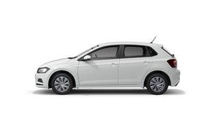 2021 Volkswagen Polo AW Comfortline Pure White 7 Speed Semi Auto Hatchback.