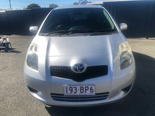 2008 Toyota Yaris NCP91R YRS Silver 4 Speed Automatic Hatchback