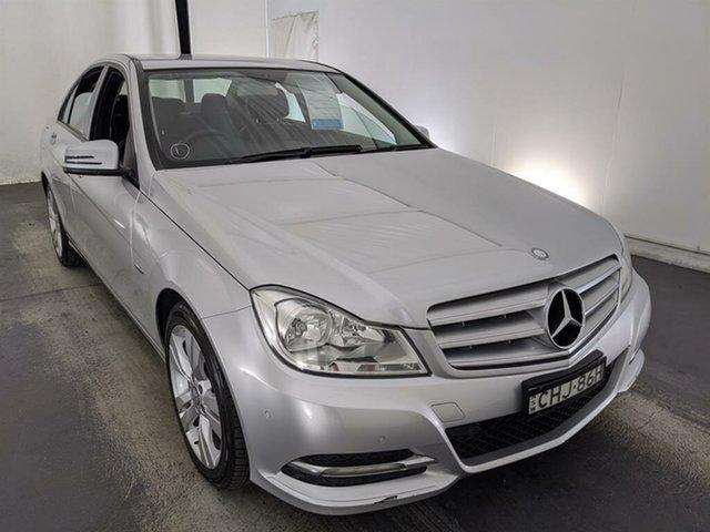 Used Mercedes-Benz C-Class W204 MY12 C200 BlueEFFICIENCY 7G-Tronic + Maryville, 2012 Mercedes-Benz C-Class W204 MY12 C200 BlueEFFICIENCY 7G-Tronic + Silver 7 Speed Sports Automatic