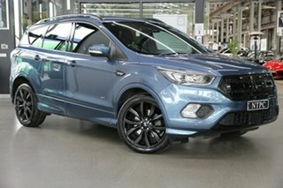 2018 Ford Escape ZG 2018.75MY ST-Line Blue 6 Speed Sports Automatic SUV.