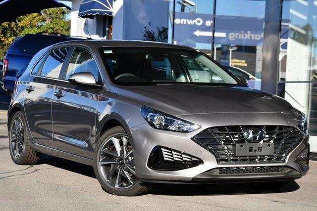Demo Hyundai i30 PD.V4 MY21 Active Victoria Park, 2020 Hyundai i30 PD.V4 MY21 Active Fluidic Metal 6 Speed Automatic Hatchback