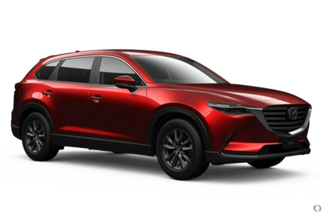 New Mazda CX-9 TC Sport SKYACTIV-Drive Waitara, 2021 Mazda CX-9 TC Sport SKYACTIV-Drive Red 6 Speed Sports Automatic Wagon