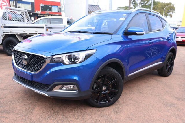 Used MG ZS MY17 Excite Brookvale, 2018 MG ZS MY17 Excite Blue 4 Speed Automatic Wagon