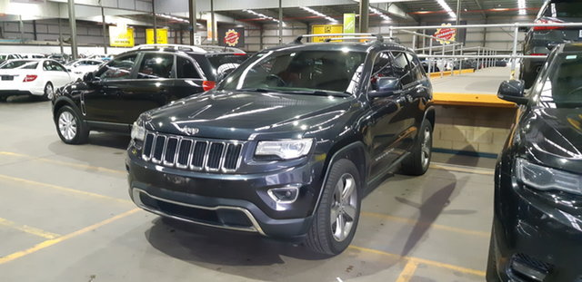 Used Jeep Grand Cherokee WK MY2013 Limited Brooklyn, 2013 Jeep Grand Cherokee WK MY2013 Limited Blue 5 Speed Sports Automatic Wagon