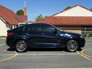 2015 BMW X4 F26 xDrive20d Coupe Steptronic Blue 8 Speed Automatic Wagon.