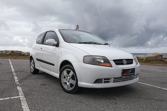 Used Holden Barina TK MY08 Lonsdale, 2007 Holden Barina TK MY08 White 5 Speed Manual Hatchback