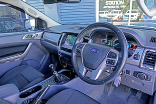 2018 Ford Ranger PX MkII 2018.00MY XLT Double Cab 4x2 Hi-Rider Ingot Silver 6 Speed Manual Utility