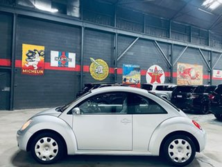 2011 Volkswagen Beetle 9C MY2010 Miami Coupe Silver 6 Speed Sports Automatic Liftback