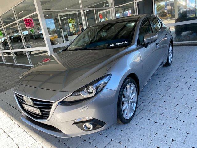 Used Mazda 3 Taree, 2014 Mazda 3 SP25 - Astina Aluminium Sports Automatic Hatchback