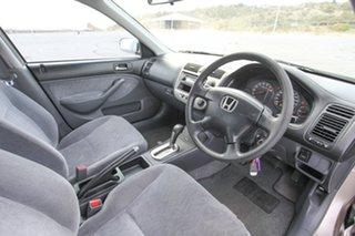 2002 Honda Civic 7th Gen MY2002 GLi Gold 4 Speed Automatic Sedan