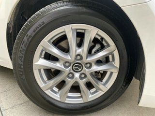 2018 Mazda 3 BN5476 Maxx SKYACTIV-MT Sport White 6 Speed Manual Hatchback.