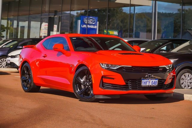 Used Chevrolet Camaro MY19 2SS Gosnells, 2019 Chevrolet Camaro MY19 2SS Red 10 Speed Sports Automatic Coupe