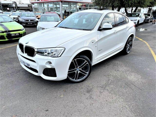 Used BMW X4 F26 xDrive20i Coupe Steptronic Seaford, 2015 BMW X4 F26 xDrive20i Coupe Steptronic White 8 Speed Automatic Wagon