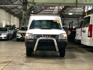 2009 Nissan Navara D22 MY2008 DX 4x2 White 5 Speed Manual Cab Chassis.