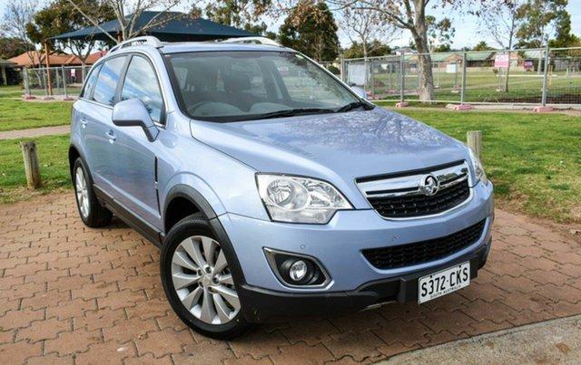 Used Holden Captiva CG MY15 5 LT Ingle Farm, 2015 Holden Captiva CG MY15 5 LT Blue 6 Speed Sports Automatic Wagon