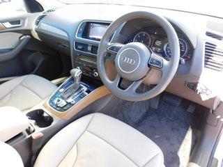 2014 Audi Q5 8R MY14 TDI S Tronic Quattro White 7 Speed Sports Automatic Dual Clutch Wagon.