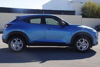 2021 Nissan Juke F16 ST+ DCT 2WD Vivid Blue 7 Speed Sports Automatic Dual Clutch Hatchback.