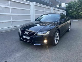 2010 Audi A5 8T MY10 Quattro Black 6 Speed Sports Automatic Coupe