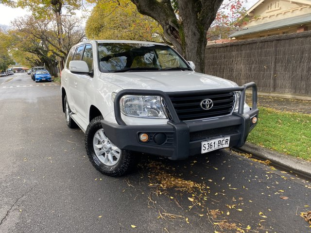 Pre-Owned Toyota Landcruiser VDJ200R MY13 GXL Hawthorn, 2014 Toyota Landcruiser VDJ200R MY13 GXL White 6 Speed Sports Automatic Wagon
