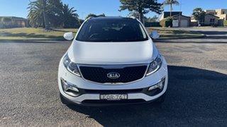 2014 Kia Sportage SL Series II MY13 Platinum Casa White 6 Speed Sports Automatic Wagon.