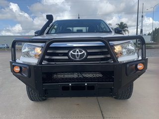 2017 Toyota Hilux GUN126R SR Double Cab White/250517 6 Speed Sports Automatic Cab Chassis