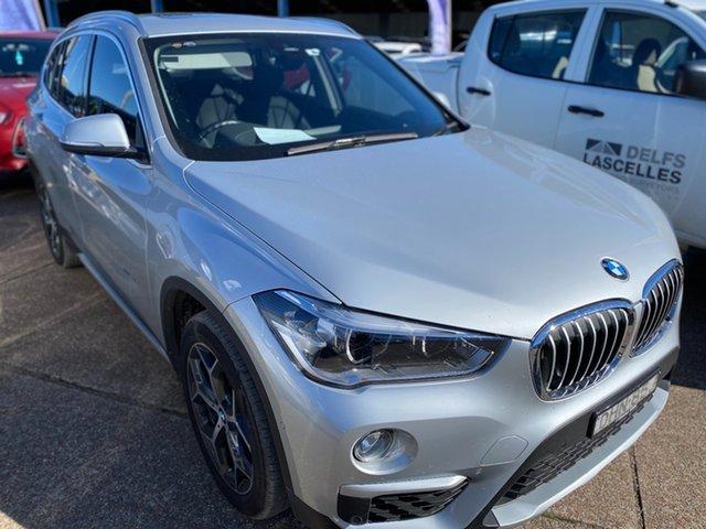 Used BMW X1 F48 xDrive20d Steptronic AWD Wickham, 2016 BMW X1 F48 xDrive20d Steptronic AWD Glacier Silver 8 Speed Sports Automatic Wagon