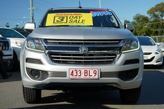 2016 Holden Colorado RG MY16 LS Crew Cab Silver 6 Speed Sports Automatic Utility.