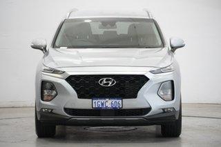 2019 Hyundai Santa Fe TM MY19 Active Typhoon Silver 8 Speed Sports Automatic Wagon.