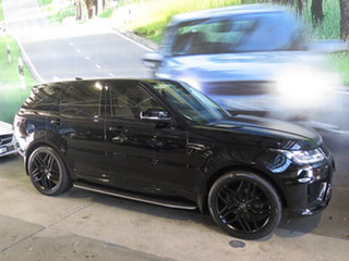 2019 Land Rover Range Rover Sport L494 MY20 SDV6 SE (183kW) Black 8 Speed Automatic Wagon.